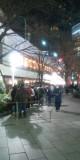 西銀座チャンスセンターの行列