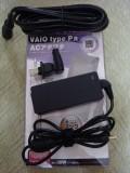 VAIO type P用 ACアダプタとL形電源プラグ
